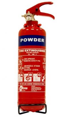 JacTone 1kg Fire Extinguisher